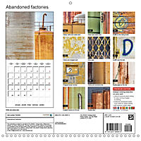 Abandoned factories (Wall Calendar 2019 300 × 300 mm Square) - Produktdetailbild 13