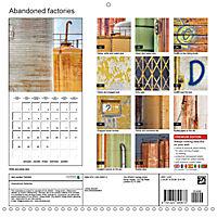Abandoned factories (Wall Calendar 2019 300 × 300 mm Square) - Produktdetailbild 13