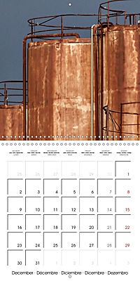 Abandoned factories (Wall Calendar 2019 300 × 300 mm Square) - Produktdetailbild 12