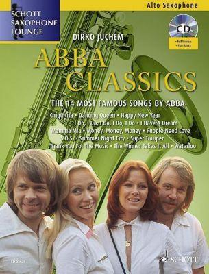 Abba Classics, für Altsaxophon und Klavier, m. Audio-CD, Abba