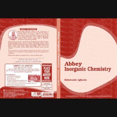 ABBEY INORGANIC CHEMISTRY, Babatunde Agboola