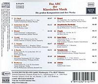 Abc Der Klassischen Musik - Produktdetailbild 1