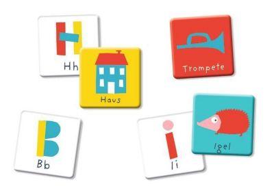 ABC - Mein Buchstaben-Memo (Kinderspiel)