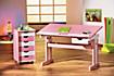 """ABC Rollcontainer """"Pierre"""" (Farbe: rosa/weiß) - Produktdetailbild 1"""
