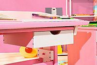 """ABC Schreibtisch """"Cecilia"""" (Farbe: rosa/weiß) - Produktdetailbild 6"""