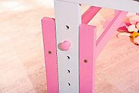 """ABC Schreibtisch """"Cecilia"""" (Farbe: rosa/weiß) - Produktdetailbild 4"""