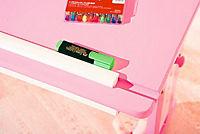 """ABC Schreibtisch """"Cecilia"""" (Farbe: rosa/weiß) - Produktdetailbild 3"""