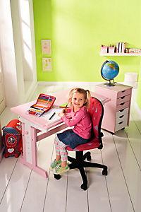 """ABC Schreibtisch """"Cecilia"""" (Farbe: rosa/weiß) - Produktdetailbild 7"""