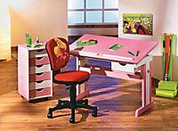 """ABC Schreibtisch """"Cecilia"""" (Farbe: rosa/weiß) - Produktdetailbild 2"""