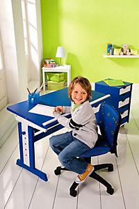 """ABC Schreibtisch """"Paco"""" (Farbe: blau/weiß) - Produktdetailbild 2"""