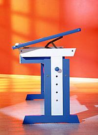 """ABC Schreibtisch """"Paco"""" (Farbe: blau/weiß) - Produktdetailbild 4"""