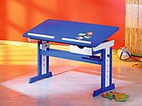 """ABC Schreibtisch """"Paco"""" (Farbe: blau/weiß) - Produktdetailbild 1"""