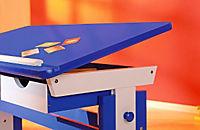 """ABC Schreibtisch """"Paco"""" (Farbe: blau/weiß) - Produktdetailbild 5"""
