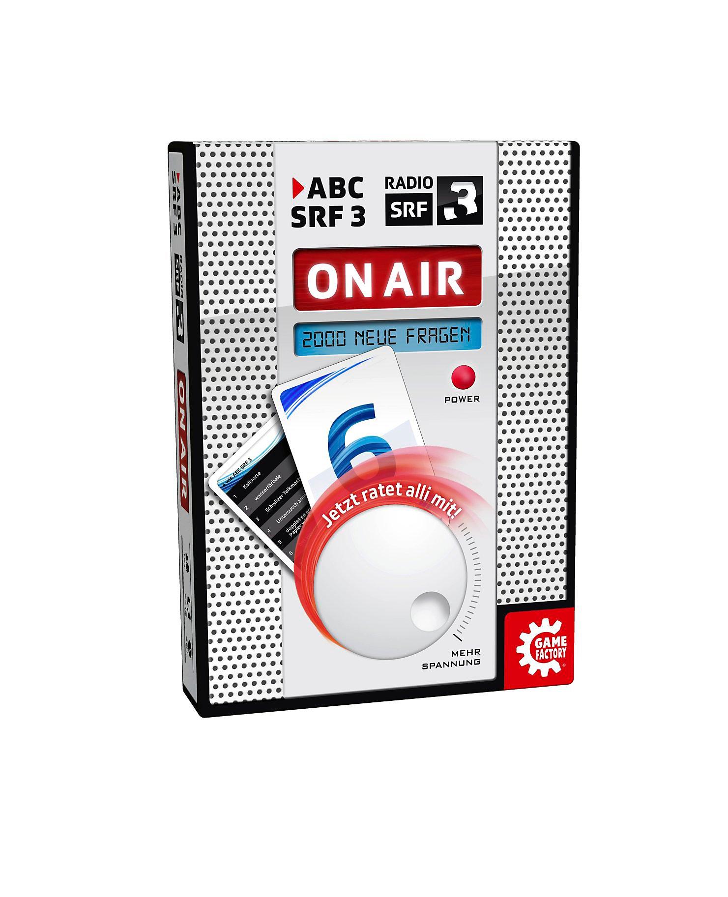ABC SRF 3 - On AIR Spiel jetzt bei Weltbild de bestellen
