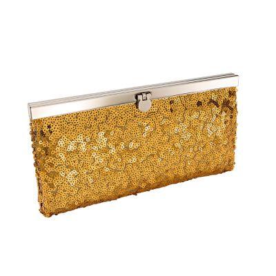 Abendtasche Clutch, gold