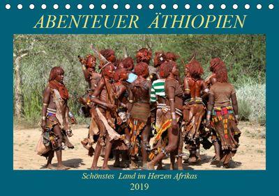 Abenteuer Äthiopien (Tischkalender 2019 DIN A5 quer), Roland Brack