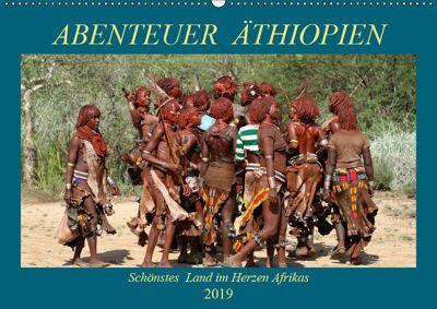 Abenteuer Äthiopien (Wandkalender 2019 DIN A2 quer), Roland Brack