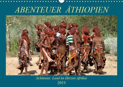 Abenteuer Äthiopien (Wandkalender 2019 DIN A3 quer), Roland Brack