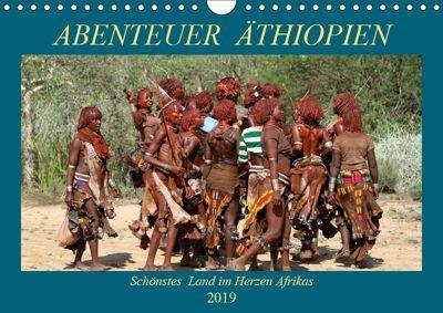Abenteuer Äthiopien (Wandkalender 2019 DIN A4 quer), Roland Brack