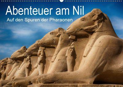 Abenteuer am Nil. Auf den Spuren der Pharaonen (Wandkalender 2019 DIN A2 quer), Steffen Wenske