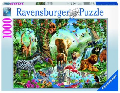 Puzzle 1000 Teile Spiel Deutsch 2018 Puzzles & Geduldspiele Geduldspiel Tropische Stimmung