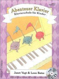 Abenteuer Klavier, Band 2, Janet Vogt, Leon Bates