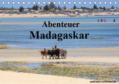 Abenteuer Madagaskar (Tischkalender 2019 DIN A5 quer), k.A. weltreise-unlimited.de