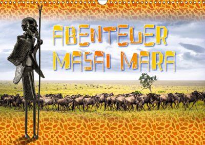 Abenteuer Masai Mara (Wandkalender 2019 DIN A3 quer), Dieter Gödecke