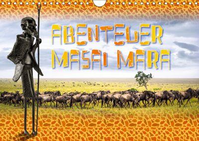 Abenteuer Masai Mara (Wandkalender 2019 DIN A4 quer), Dieter Gödecke