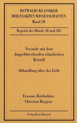 Abhandlungen über das Licht, Christian Huygens