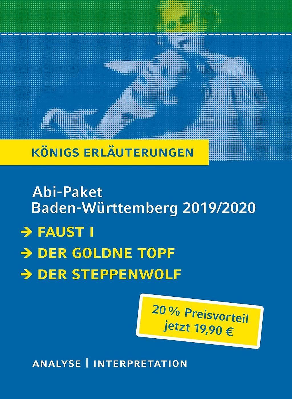Abi Paket Baden Württemberg 2019 2020 Faust I Der Goldne Topf Der