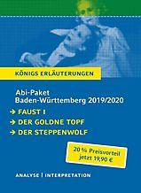 Das Abi Komplettpaket Lektüre Plus Interpretation Faust I Buch