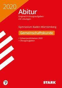Abitur 2020 - Gymnasium Baden-Württemberg - Gemeinschaftskunde