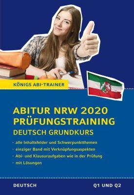Abitur NRW 2020 Prüfungstraining - Deutsch Grundkurs - Ralf Gebauer pdf epub