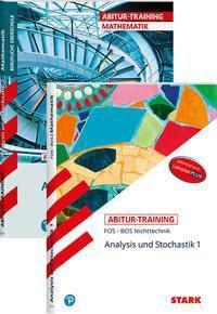 Abitur-Training Mathematik - FOS/BOS Bayern 11. und 12. Klasse Nichttechnik, 2 Bde.