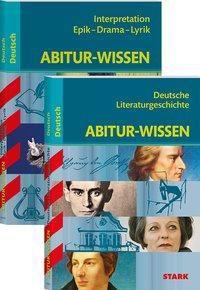 Abitur-Wissen Deutsch - Literaturgeschichte + Interpretationen Epik, Drama, Lyrik, 2 Bde.