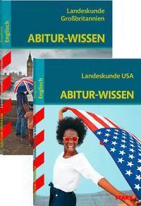 Abitur-Wissen Englisch - Landeskunde Großbritannien + Landeskunde USA, 2 Bde.