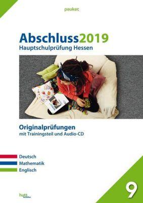 Abschluss 2019 - Hauptschulprüfung Hessen, m. Audio-CD