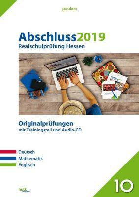 Abschluss 2019 - Realschulprüfung Hessen, m. Audio-CD