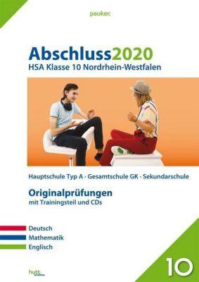 Abschluss 2020 - HSA Klasse 10 Nordrhein-Westfalen, m. CD-ROM u. Audio-CD