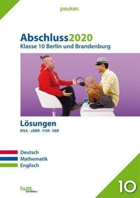 Abschluss 2020 - Klasse 10 Berlin und Brandenburg Lösungen