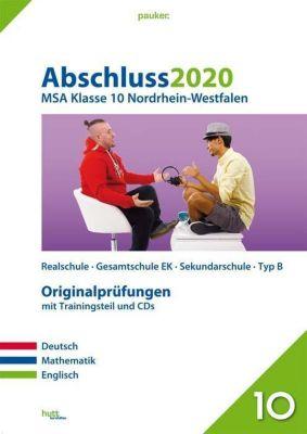 Abschluss 2020 - MSA Klasse 10 Nordrhein-Westfalen, m. CD-ROM u. Audio-CD -  pdf epub