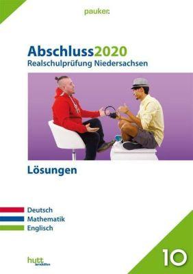 Abschluss 2020 - Realschulprüfung Niedersachsen, Lösungen