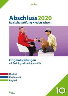 Abschluss 2020 - Realschulprüfung Niedersachsen, m. Audio-CDs