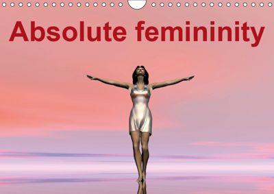 Absolute femininity (Wall Calendar 2019 DIN A4 Landscape), REDINARD