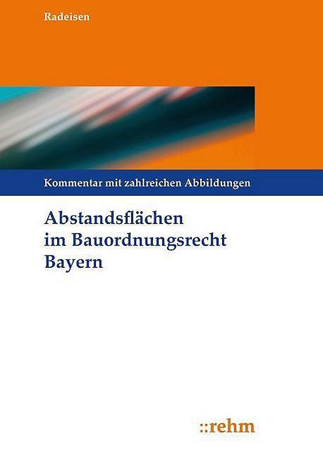 Abstandsflachen Im Bauordnungsrecht Bayern Buch Portofrei