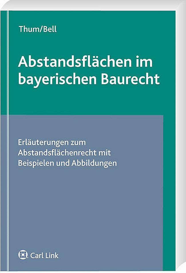 Abstandsflachen Im Bayerischen Baurecht Buch Portofrei Bestellen