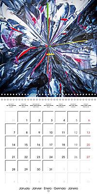 Abstract acrylic (Wall Calendar 2019 300 × 300 mm Square) - Produktdetailbild 1