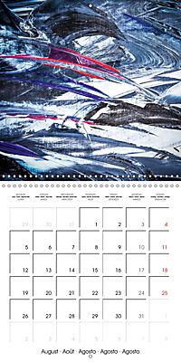 Abstract acrylic (Wall Calendar 2019 300 × 300 mm Square) - Produktdetailbild 8