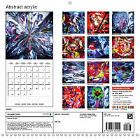 Abstract acrylic (Wall Calendar 2019 300 × 300 mm Square) - Produktdetailbild 13